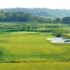 A view of a fairway at Elks Run Golf Club