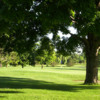 A sunny day view of a hole at Delbrook Golf Club