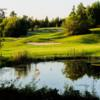 A view of the 15th hole at Kenora Golf and Country Club