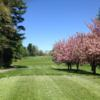 A spring day view from a tee at Reading Country Club
