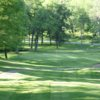 A view from a tee at Oak Lake Golf Course