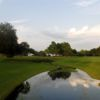 A view over the water from Miona Lake Golf Club