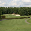 A view of the 3rd hole at Carolina Trace Country Club - Creek Course