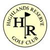 Highlands Reserve Golf Club Logo