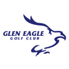 Glen Eagle Golf Club - Red/Blue Logo