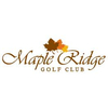 Maple Ridge Golf Club - Semi-Private Logo