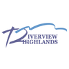 Gold/Red at Riverview Highlands Golf Course - Public Logo